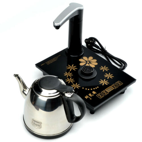 POMPA AUTOMATICA /& Riempi D/'acqua Pentola a induzione Bollitore Gongfu Tè Brew Set