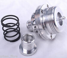 Turbo Dump Valve 25mm Aluminium Silver Fitting Kit Blow Off BOV Spring Bung