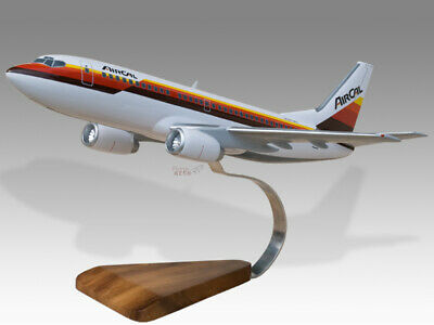 Aeronautica Collectables Delicious Boeing 737-300 Aircal Solid Dried Mahogany Wood Handmade Airplane Desktop Model Utmost In Convenience