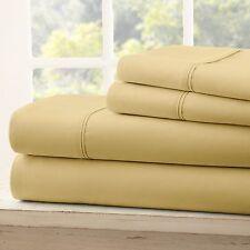 Egyptian Comfort Hotel Quality 4 Piece Deep Pocket Bed Sheet Set