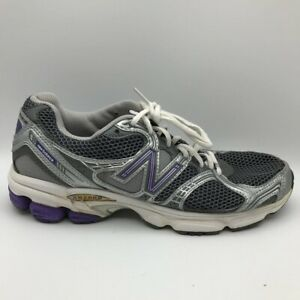 Details about New Balance Womens Abzorb 563 Running Shoes Gray Low Top Lace Up Mesh 10 B