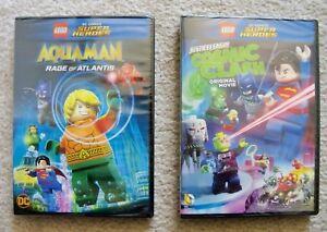 LEGO-DC-Super-Heroes-Aquaman-Rage-Of-Atlantis-amp-Cosmic-Clash-DVD-New