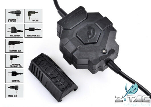 Z Tactical Style wireless PTT (Adapter optional) Z123