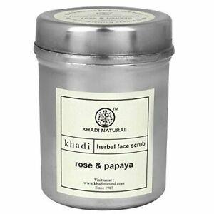 Khadi-Natural-Rose-amp-Papaya-Face-Scrub-herbal-50gm