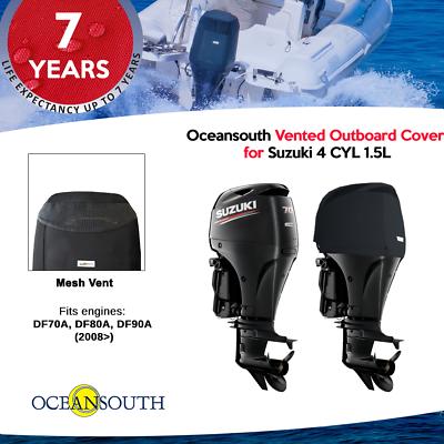 Suzuki Outboard Motor Vented Cover