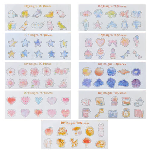 Wholesale 70pcs Cute Paper Sticker Tag Diary Decor Stickers Album Scrapbooking
