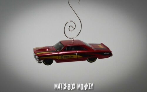 1964 /'64 Custom Classic Ford Galaxie Christmas Ornament 1//64 Muscle Car Crower