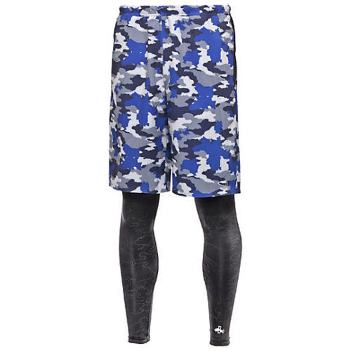 Buy PUMA X 1 FCH Mens Shorts and Tights Royal Blue Camo Sizes S M L XL 2in1  Medium online  d522afc6b1f5