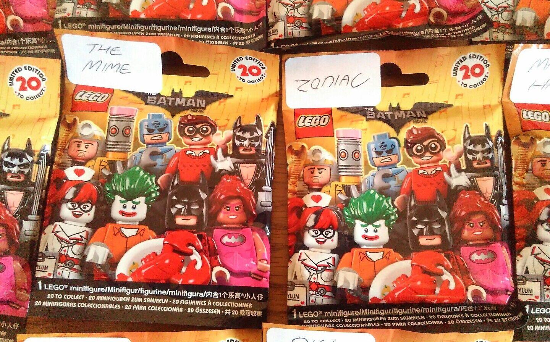 LEGO BATMAN MOVIE série I (Un) (Un) (Un) - full complet & Sealed Set f45fc2