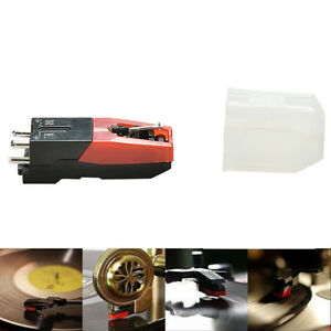 Turntable Phono Ceramic Cartridge with Stylus Needle for LP Record Player New E7