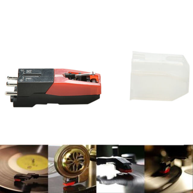 3pcs Turntable Phono Ceramic Cartridge with Stylus Needle for Record Player