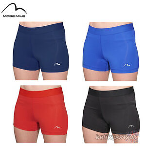 MORE MILE WOMENS LADIES KIDS 3 INCH RACER BOY RUNNING FITNESS GYM ... cd6df30da4