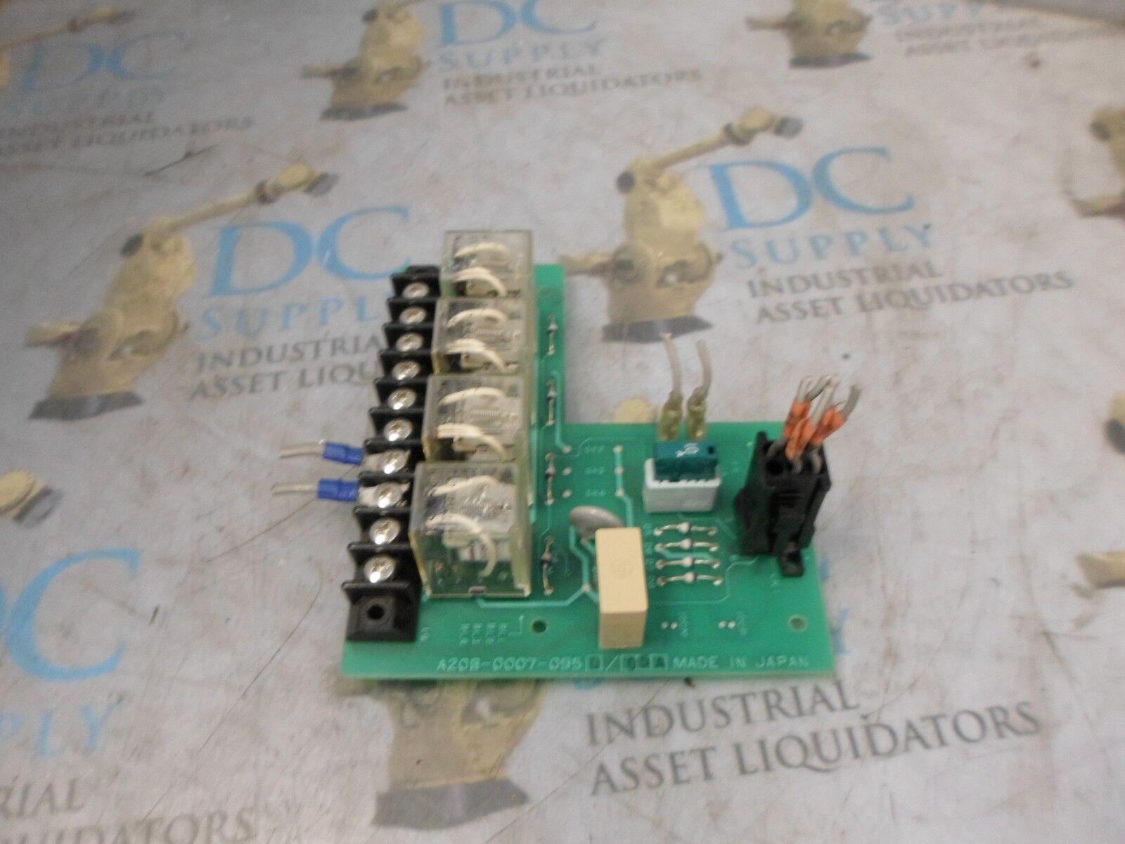 FANUC A20B-0007-0950 05A RELAY CIRCUIT BOARD