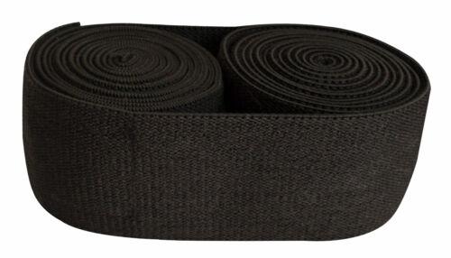 Power Lifting Velcro Pair Squats Support Heavy Elastic Knee wraps full black