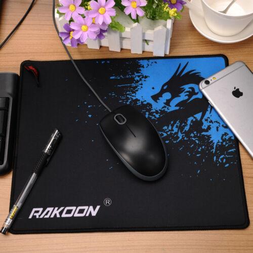 Rakoon Large Gaming Mouse Pad Locking Edge Mat For PC Bar Mousepad 3 size