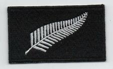 Embroidered SILVER FERN (KIWI) Flag New Zealand Patch Badge HIGH QUALITY