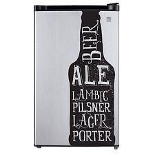 Beer Bottle Decal Sticker for Craft Brew Refrigerator Dorm Fridge Freezer Retro