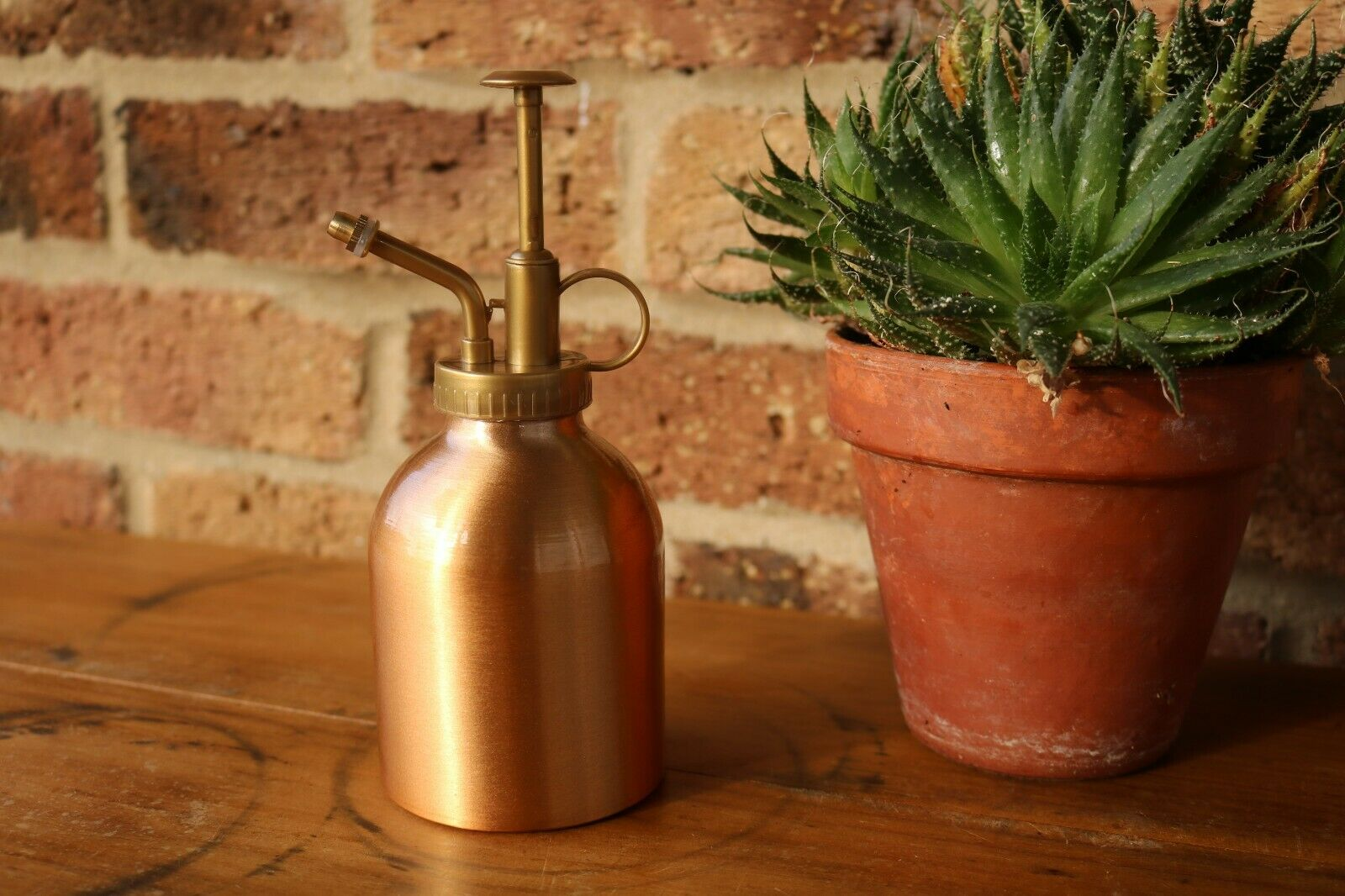 Vintage Style NEW Copper Plated Houseplant Garden Water Spray Atomiser.