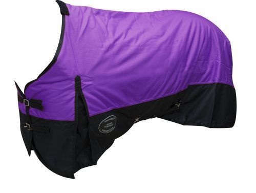 PURPLE 80  1200D Winter WATERPROOF and BREATHABLE Turnout BLANKET Horse Size