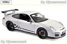 Porche 911 GT3 RS de 2010 White & Black Trim NOREV - NO 187561 -- Echelle 1/18