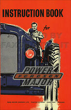 Fordson Power Major Tractor Owners Manual 1958 1959 1960 1961 Handbook Guide