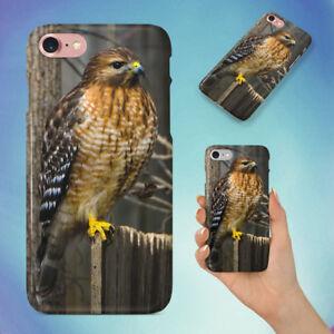 NATURE-BIRD-FENCE-HAWK-HARD-BACK-CASE-FOR-APPLE-IPHONE-PHONE