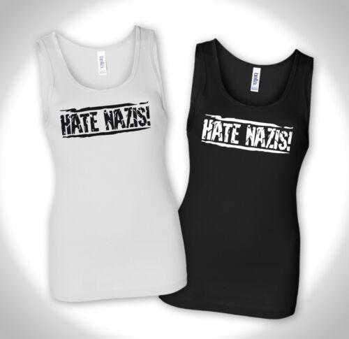 Tank Top Punk Antifa No Pegida Refugees Welcome Hc Hardcore Hate Nazis