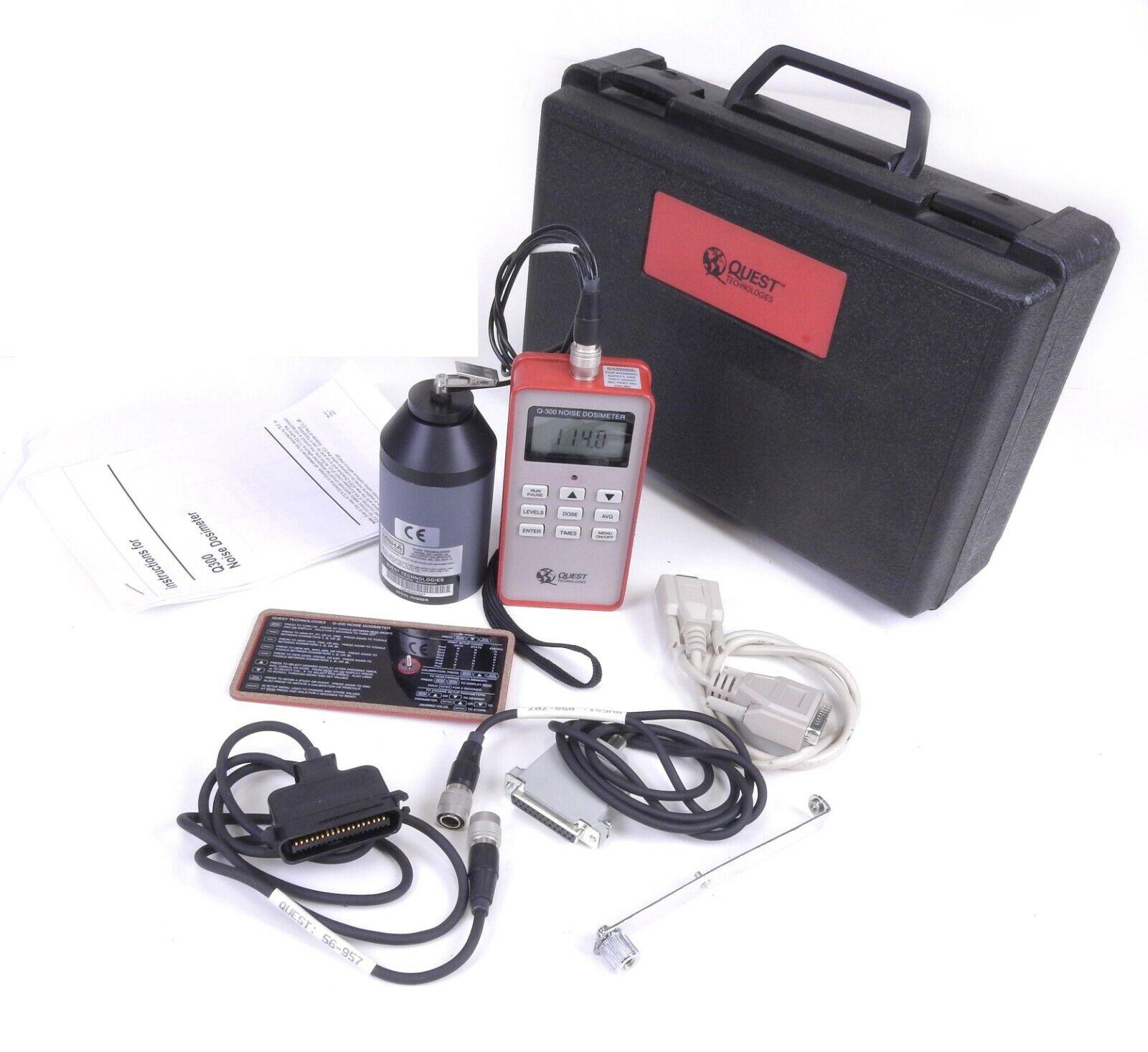 Quest Q-300 Nose Dosimeter Kit