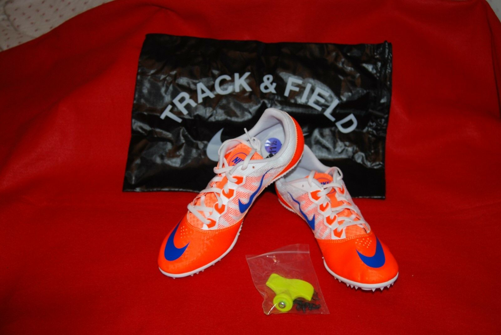 New shoes for men and women, limited time discount Nike Zoom Rival S 7 Running Track Spikes 616313-841 Comfortable