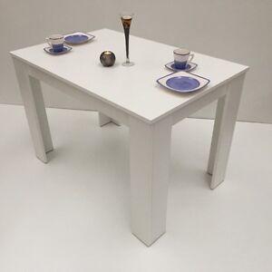 esstisch 110x70cm k chentisch esszimmerm bel wei made in germany. Black Bedroom Furniture Sets. Home Design Ideas