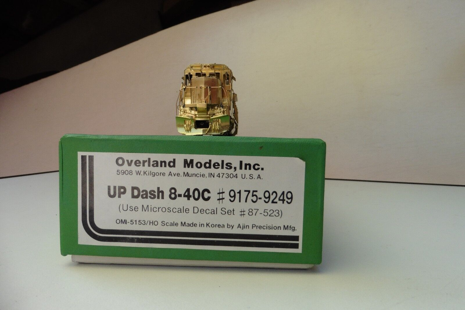 Overle OMI h0 up Dash 840c  91759249 Union Pacific