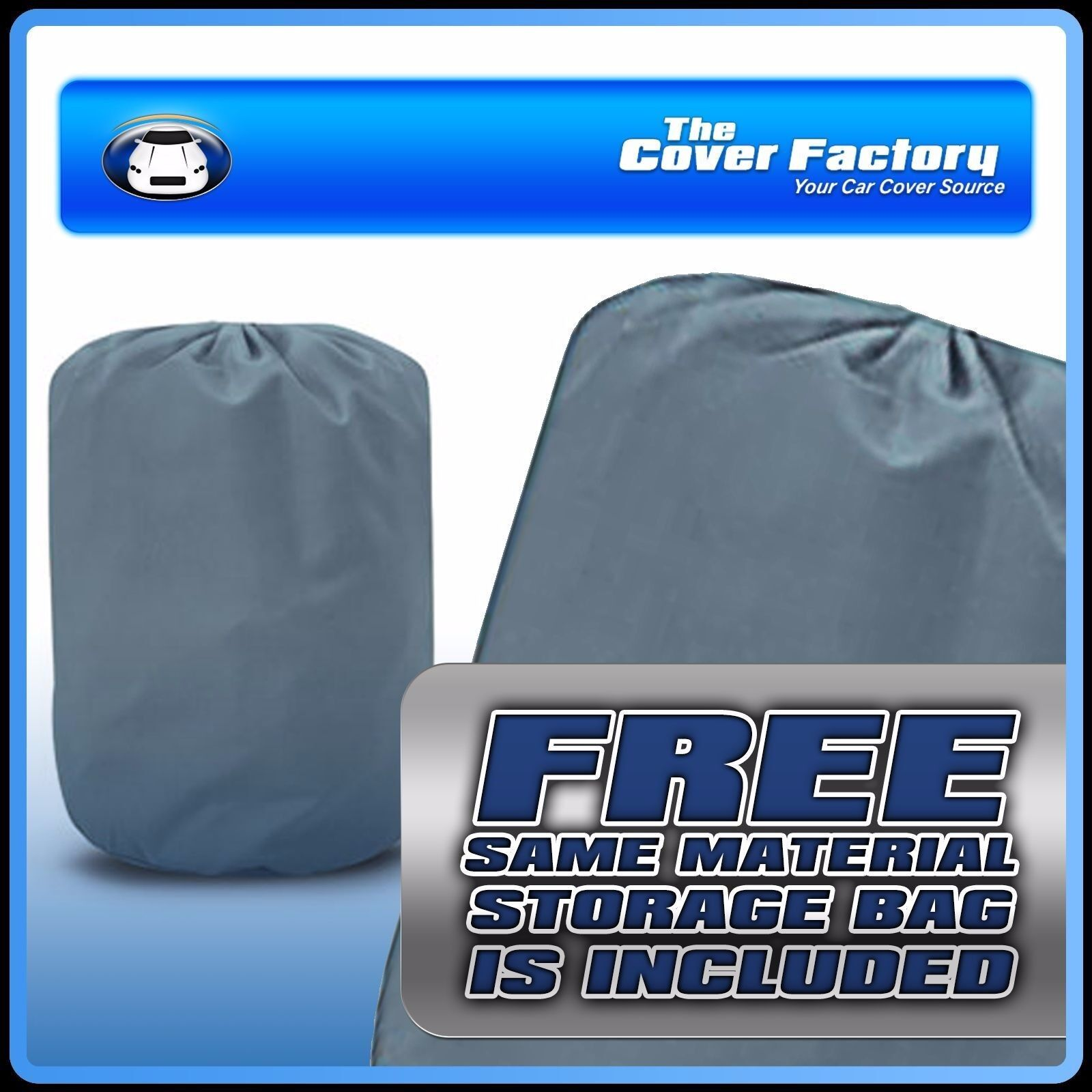 2 Layer Car Cover Breathable Waterproof Layers Outdoor Indoor Fleece Lining Fit