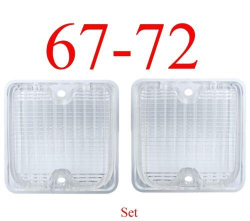 67 72 Suburban 2Pc Reverse Light Set Chevy GMC C//K