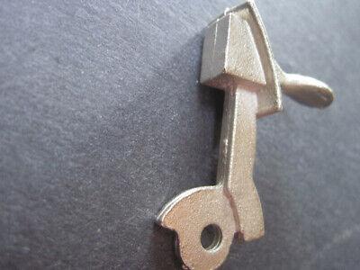 """Leslie Henry 9/"""" nickel plated hammer for 1960-1965 cap gun"""