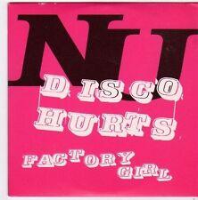 (FI625) NU, Disco Hurts - 2002 DJ CD