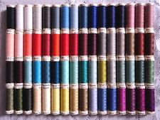 64 NEW Different colors GUTERMANN 100% polyester sew-all thread 110 yard spools