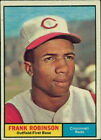 2010 Topps Heritage 1961 Buybacks Frank Robinson Cincinnati Reds #360 Baseball Card