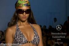 Trina Turk 2012 Tamarindo Beads 2Pc Halter Bikini Swimsuit NWT $178 Sz8 Women's