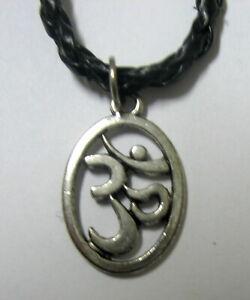 Halskette-OM-AUM-Sanskrit-Necklace-Hinduismus-x
