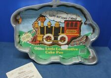 502-3649 Retired Wilton Little Locomotive Train Shaped Cake Pan 1983