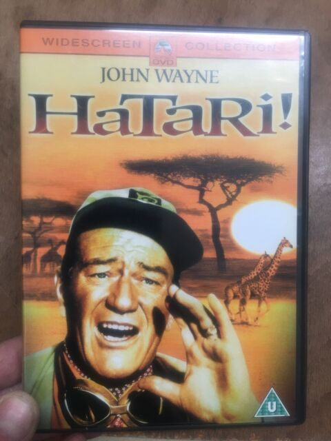 Hatari!-John Wayne(R2 DVD)1961 Howard Hawks Africa Safari Red Buttons Martinelli