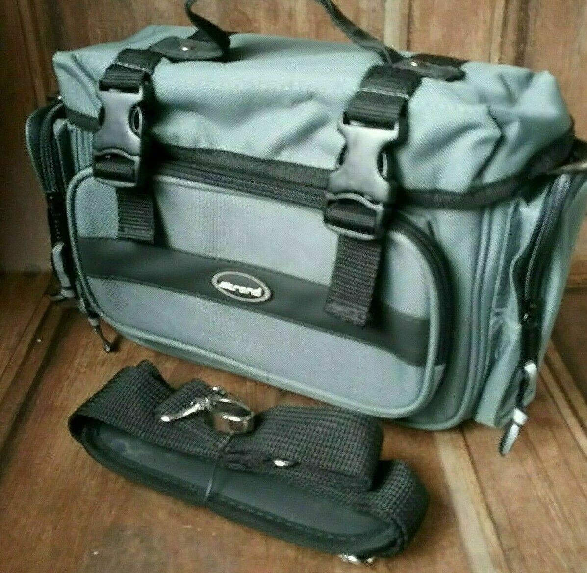 Padded GoPro Gadget Accessory Camcorder camera bag Case with Strap by strand