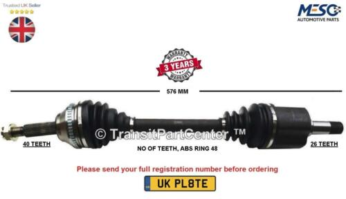 DRIVE SHAFT AXLE FITS FOR VOLVO XC90 I 275 D5 2.5 T AWD 2002-2014 LEFT HAND SIDE