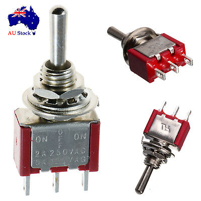 Miniature Spdt Single Pole Toggle Switch B On-Off-On
