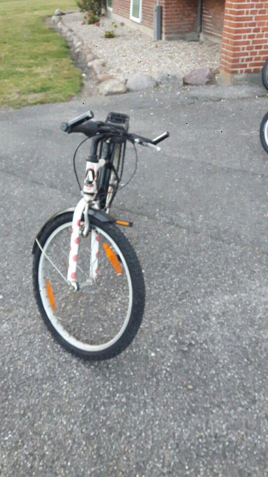 Pigecykel, citybike, MTB