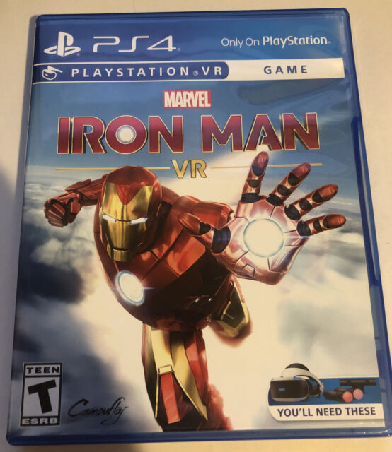 Marvel's Iron Man VR PS4 PSVR (Sony PlayStation 4, 2020) Fast Shipping USA Vers.