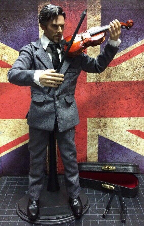 Sherlock Holmes, Benedict Cumberbatch 1/6 Escala Figura De Acción