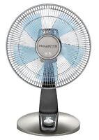Rowenta Vu2531 Turbo Silence 4-speed Oscillating Desk Fan, 12-inch, Bronze , on sale
