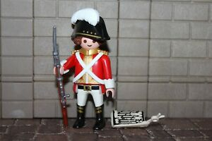 Playmobil-Casaques-034-Soldat-034-Garde-des-soldats-britanniques-Marine-1