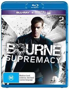 Bourne-Supremacy-BLU-RAY-MATT-DAMON-Blu-ray-2-Disc-REGION-B-AUSTRALIA